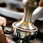 Стальной темпер в портафильтре рожковой кофеварки