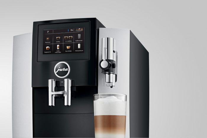 Кофемашина Jura S8: фото анфас