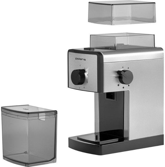 Кофемолка жерновая (на самом деле псевдожерновая) Polaris PCG 1620