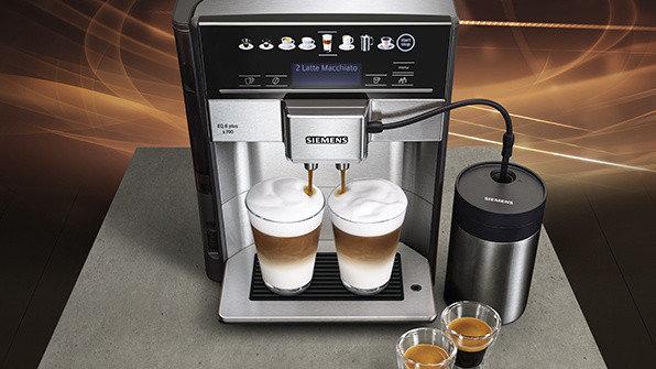 Кофемашина Siemens EQ.6 plus