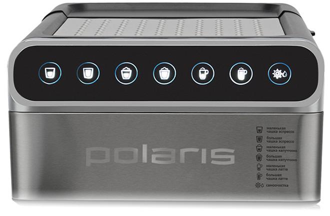Панель управления эспрессо кофеварки Polaris PCM 1535E