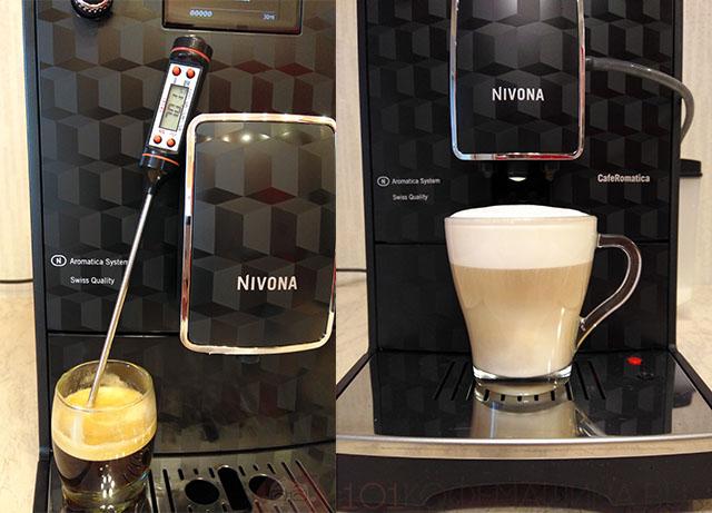 Эспрессо и капучино на кофемашине Nivona с Aliexpress
