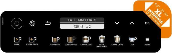 Дисплей кофемашины Krups Evidence Plus