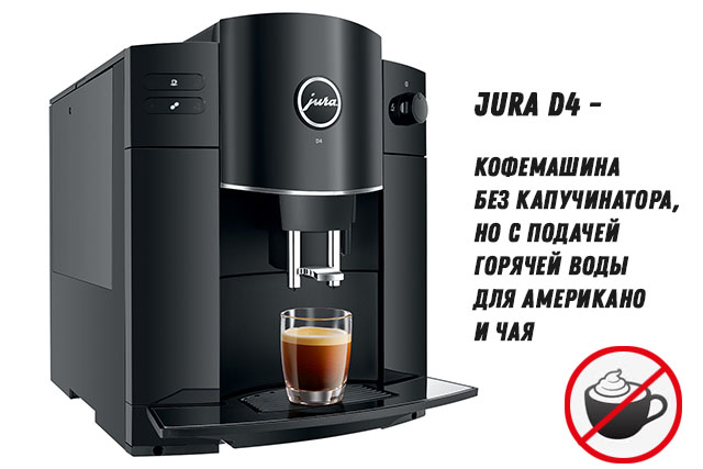 Кофемашина JURA D4 Piano Black