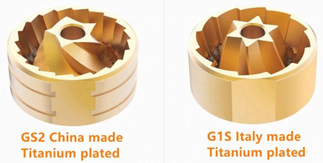 Жернова GS2 и G1S