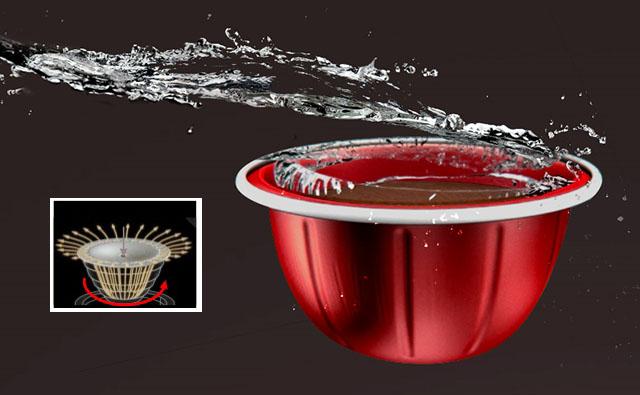 Принцип действия Nespresso Vertuo Centrifusion