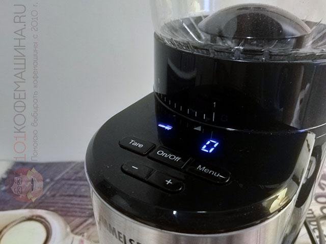 Дисплей (экран) кофемолки Роммельсбахер 500