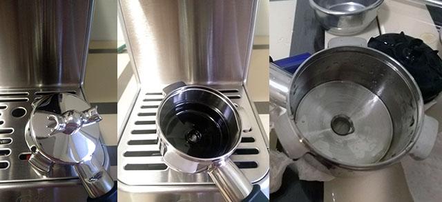 Холдер (портафильтр) кофеварки Солис Бариста Перфетта Плюс