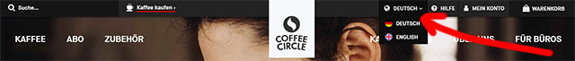 CoffeeCircle доступен на английском