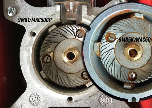 Старые и новые жернова (Eureka 9M85K, MAC50, EU 9M81, MAC50CP)