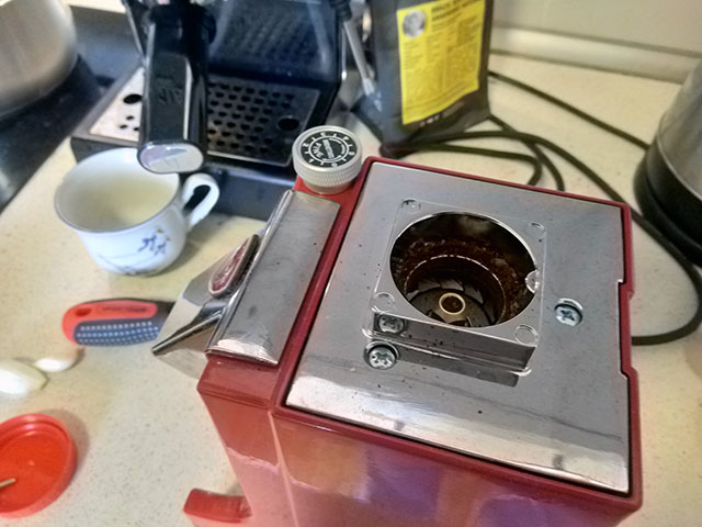 Разборка кофемолки Эврика Миньон / Eureka Mignon