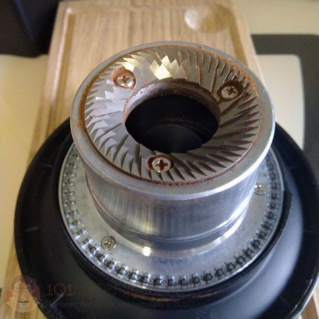 Жернова у кофемолки Wilfa Uniform - плоские, 58-мм, Italmill