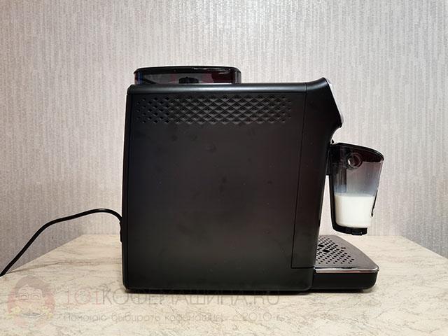 Новый молочник системы Latte Go у кофемашин Philips серии Series 4300: EP4341/50, EP4343/50, EP4346/70, EP4349/70