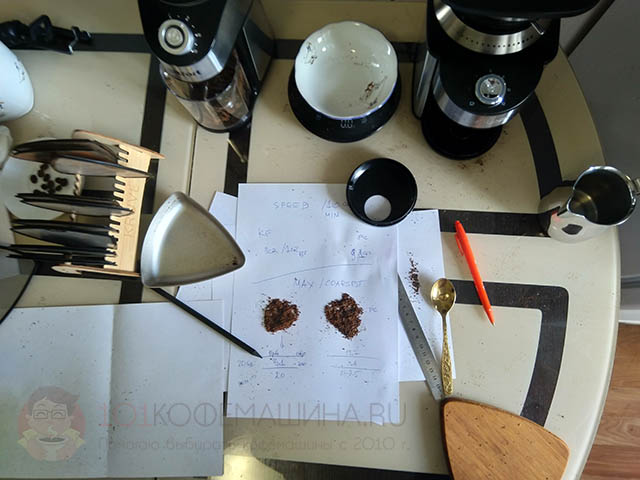 Сравниваю кофемолки Profi Cook PC-EKM 1205 и Kitfort КТ-744 с помощью весов Kruve