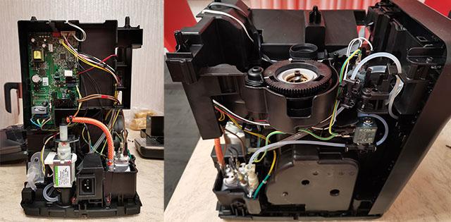 Разбор и схема устройства кофемашины Series 5400 (EP5444, EP5447)