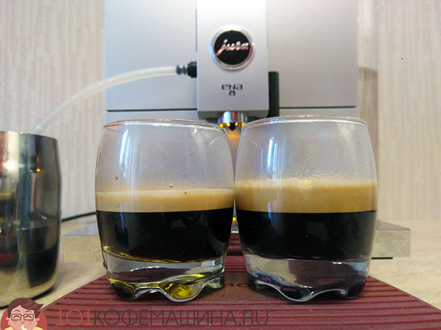 JURA ENA8: шот эспрессо на режиме PEP и без него. Что это за функция?