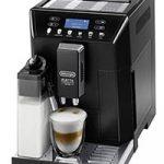 Чёрная автоматическая кофемашина DeLonghi ECAM46.860.B