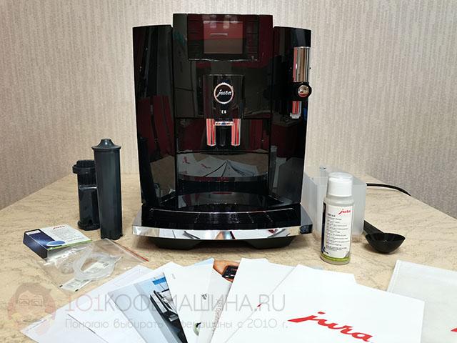 Новая модель кофемашины JURA E8 2020/2021 год