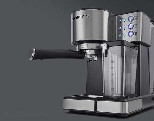 Кофеварка (кофемашина) Polaris PCM 1536E Adore Cappuccino