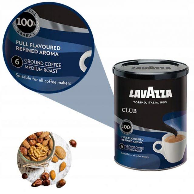 Кофе молотый и в зернах Lavazza Club