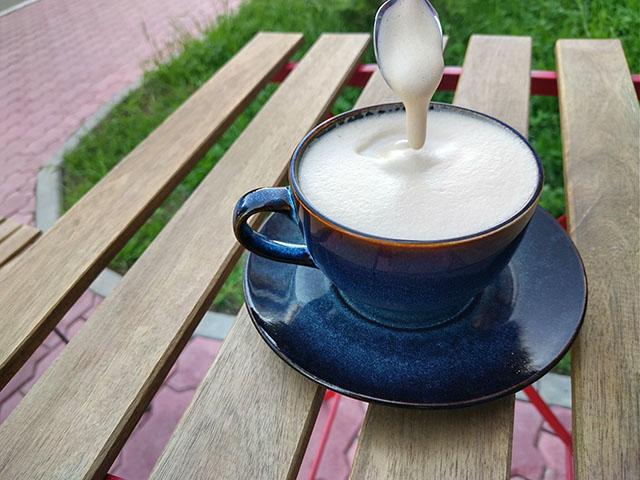 Кофе раф: пенка
