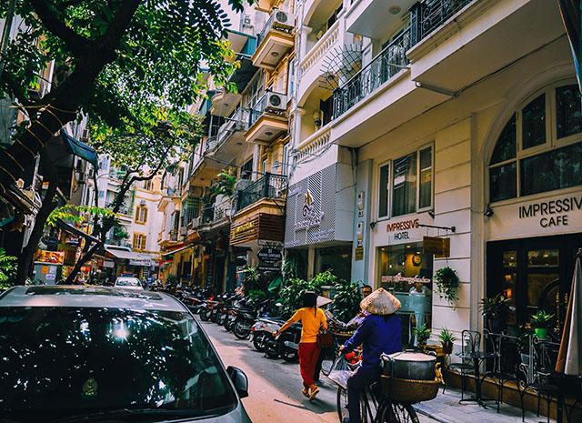 Кофейня в Ханое, Вьетнам