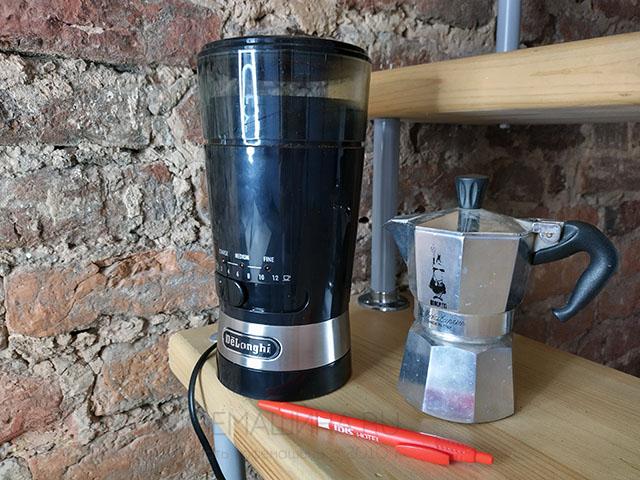 Кофемолка Delonghi KG210