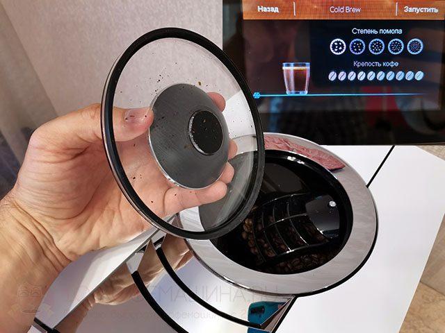 Электронное управление кофемолкой (выбор степени помола)